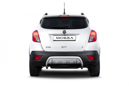 Защита заднего бампера d51мм Opel Mokka (нерж)
